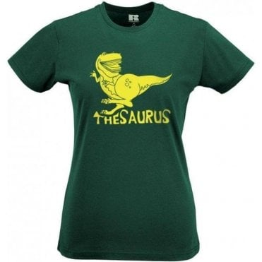 Thesaurus Women's Slim Fit T-Shirt