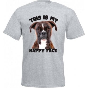 This Is My Happy Face Kids T-Shirt