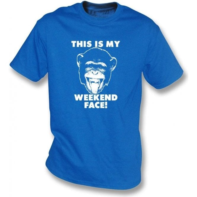 This Is My Weekend Face Kids T-Shirt