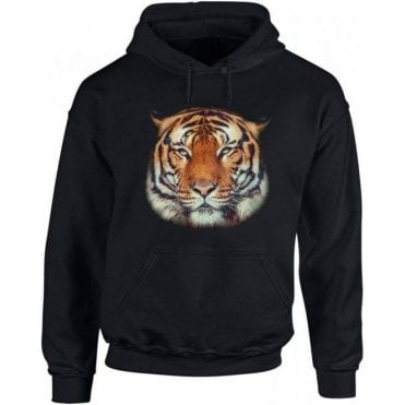 Tiger Face Hooded Sweatshirt