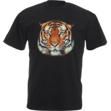Tiger Face Kids T-Shirt