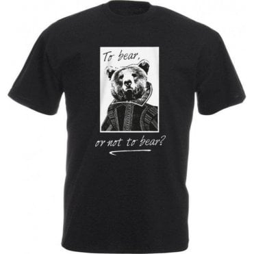 To Bear Or Not To Bear Kids T-Shirt