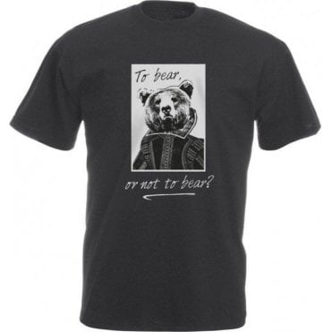 To Bear Or Not To Bear Vintage Wash T-Shirt