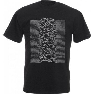 Unknown Pleasures Cat Kids T-Shirt