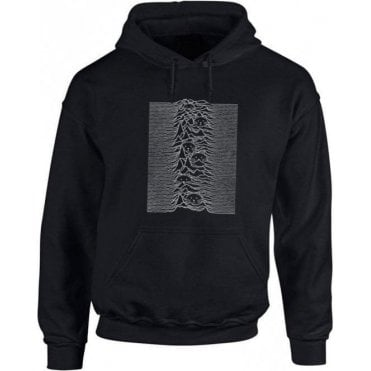 Unknown Pleasures Cats Hooded Sweatshirt