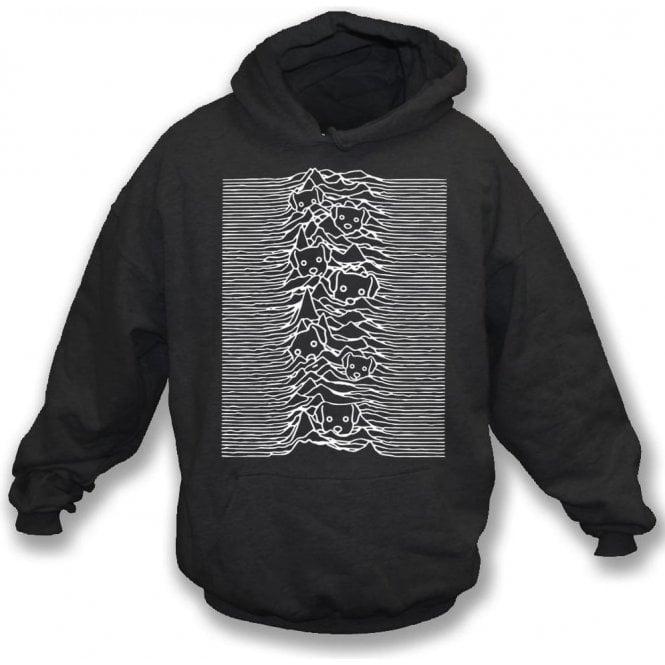 Unknown Pleasures Dogs Hooded Sweatshirt