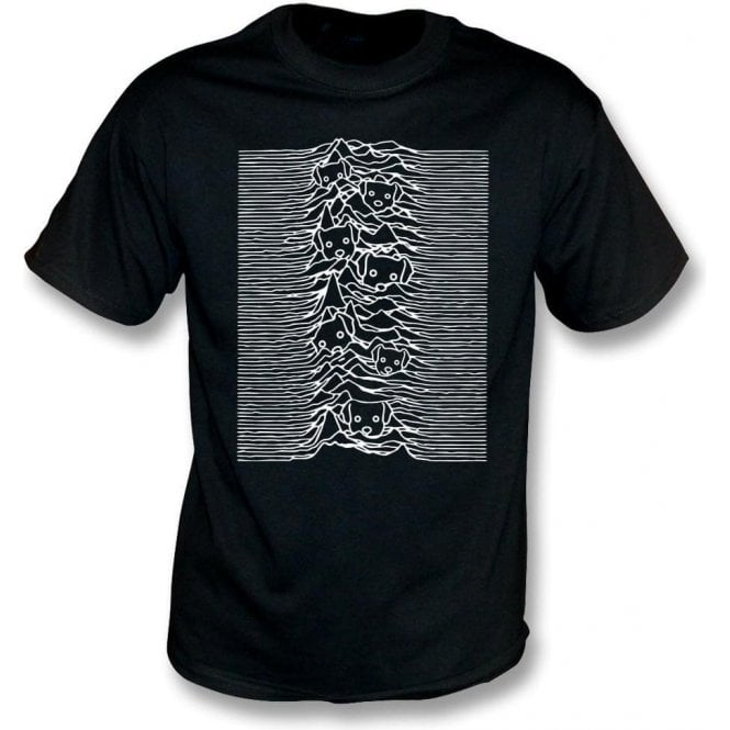 Unknown Pleasures Dogs Kids T-Shirt