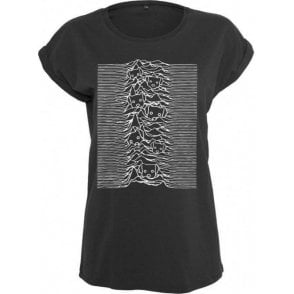 Unknown Pleasures Dogs Women's Extended Shoulder T-Shirt