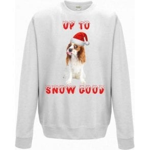 Up To Snow Good (King Charles Spaniel) Christmas Jumper