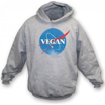Vegan NASA Hooded Sweatshirt