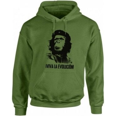 Viva La Evolucion! Kids Hooded Sweatshirt
