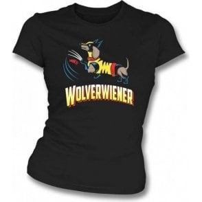Wolverwiener Womens Slim Fit T-Shirt