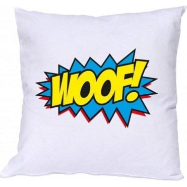 Woof Comic Bubble Cushion
