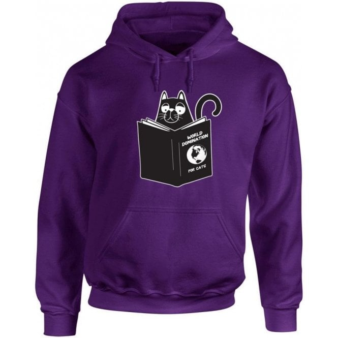World Domination For Cats Kids Hooded Sweatshirt