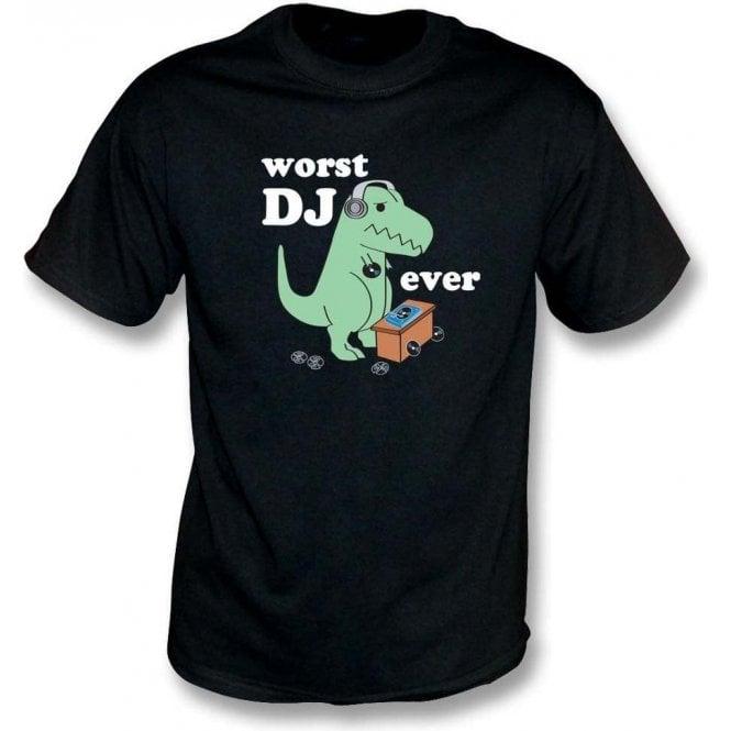 Worst DJ Ever Kids T-Shirt