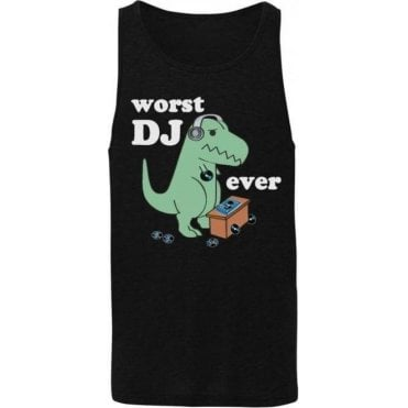 Worst DJ Ever Men's Tank Top