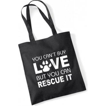 You Can't Buy Love Long Handled Tote Bag