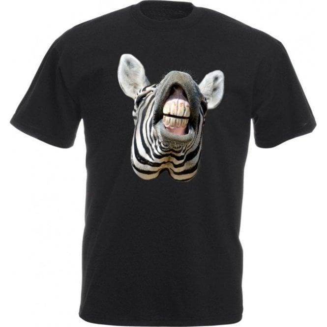 Zebra Head Kids T-Shirt